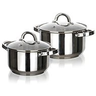 BANQUET Set of Stainless Steel Cookware SWING Small, 4pcs - Cookware Set