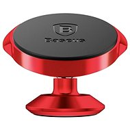 Baseus Small Ears Series Magnetic Bracket (Vertical) Red - Mobile phone holder