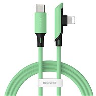 Baseus Colourful Elbow USB-C to Lightning Cable PD 18W, 1.2m, Green - Data cable