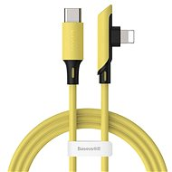 Baseus Colourful Elbow USB-C to Lightning Cable PD 18W, 1.2m, Yellow - Data cable