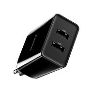 Baseus Speed Mini QC Dual USB Quick Charger 10,5W Black - AC Adapter