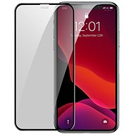 Baseus Full-Screen Curved Privacy Tempered Glass (2-Pack + Pasting Artifact) for iPhone Xr/11 - Glass protector