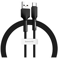 Baseus Silica Gel Cable USB to Type-C (USB-C) 2m Black - Data cable