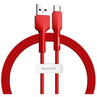 Baseus Silica Gel Cable USB to Type-C (USB-C) 2m Red - Data Cable