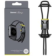 Baseus Lockable Rope Strap for Apple Watch 38mm / 40mm Gray & Yellow - Watch band