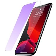 Baseus Anti-Bluelight Tempered Glass for iphone Xr/11, Transparent - Glass protector