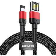 Baseus Cafule Lightning Cable Special Edition, 1.5A, 2m, Red + Black