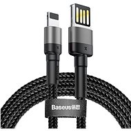 Baseus Cafule Lightning Cable Special Edition, 2.4A, 1M, Grey + Black - Data cable