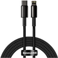 Baseus Tungsten Gold Fast Charging Data Cable Type-C to Lightning PD 20W 2m Black - Data cable