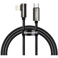 Baseus Elbow Fast Charging Data Cable Type-C to iP PD 20W 2m Black - Data Cable