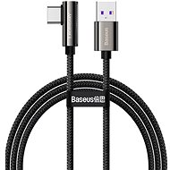 Baseus Elbow Fast Charging Data Cable USB to Type-C 66W 2m Black - Data Cable