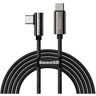 Baseus Elbow Fast Charging Data Cable Type-C to Type-C 100W 1m Black - Data Cable