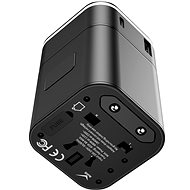 Baseus Removable 2 in 1 Universal Travel Adapter PPS Quick Charger Edition Black