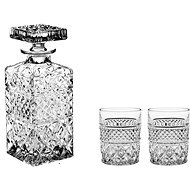 Bohemia MADISON Crystal Whiskey Set, 3pcs - Whisky Set