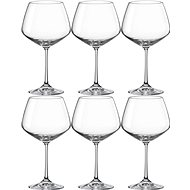 Bohemia Crystal Red Wine Glass GISELLE 580ml 6-piece set