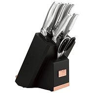 BerlingerHaus 7-piece Knife Set with tablet holder