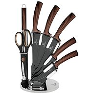 BerlingerHaus Forest Line Ebony Rosewood 8-piece Knife Set