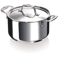 BEKA CHEF 18CM, STAINLESS STEEL, with Lid