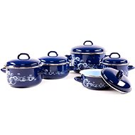 BELIS BUBBLE 5-piece Set Of Pots - Pot Set