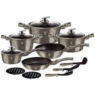 BerlingerHaus Cookware Set Carbon Metallic Line 15pcs