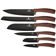 BerlingerHaus Kitchen Knife Set 6pcs Forest Line Brown - Knife Set