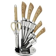 BerlingerHaus Forest Line Set of 8 Knives with Swivel Stand, 8 pcs - Knife Set