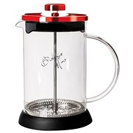 BerlingerHaus Tea and Coffee Tea French Press 350ml Burgundy Metallic Line - French Press