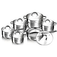 Blaumann Gourmet Line BL-1410 Stainless Steel Set 12pcs - Pot Set