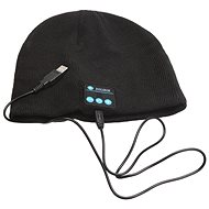 Beanie Bluetooth winter hat black - Cap