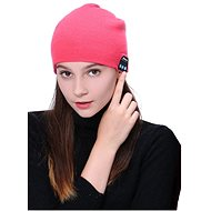 Beanie Bluetooth winter hat pink - Cap
