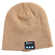 Beanie Bluetooth winter hat khaki - Cap