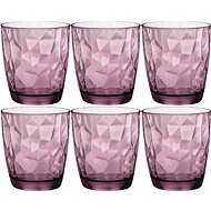 BORMIOLI DIAMOND Jars 300ml violet, 6-pack