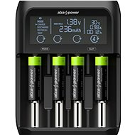 AlzaPower USB Battery Charger AP450B + Rechargeable HR6 (AA) 2500 mAh 4pcs - Battery Charger
