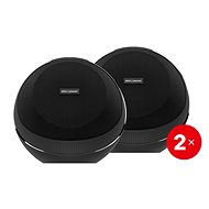 AlzaPower VORTEX V2 Black 2 pcs - Bluetooth speaker
