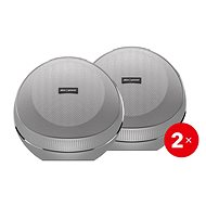 AlzaPower VORTEX V2 Silver 2 pcs - Bluetooth speaker