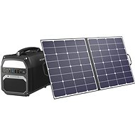 AlzaPower Station PS450 + Solar Panel MAX-E 100W - Charging Station