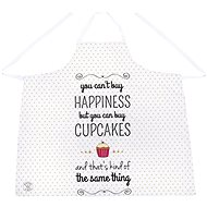 Butter Kings HAPPINESS AND CUPCAKES apron - Apron
