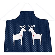 Butter Kings, Apron, 1pc, REINDEER FAMILY - Apron