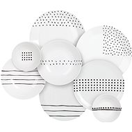 by inspire Grafico Dining Set 16pcs - Dish set