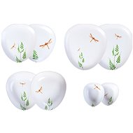 by inspire Dragonfly Dining Set 8pcs - Dish set