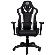 Cooler Master CALIBER R1, Black and White - Gaming Chair