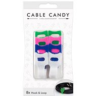 Cable Candy Hook and Loop 8-pack mixed colours - Cable Management