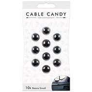 Cable Candy Small Beans 10-pack black - Cable Organiser