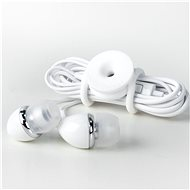 Cable Candy Tie, 3pcs, White - Organiser