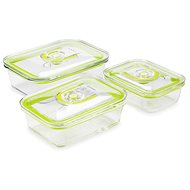 CATLER GC3 Vacuum Containers - Food Container Set