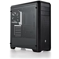 SilentiumPC Regnum RG4T Tempered Glass black - PC Case