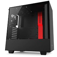 NZXT H500 black-red