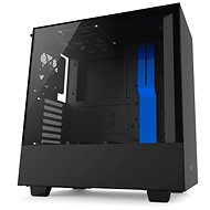 NZXT H500 black-blue - PC Case