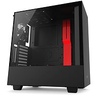 NZXT H500i black and red