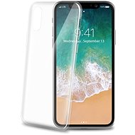 CELLY Ultrathin for iPhone X white - Mobile Case